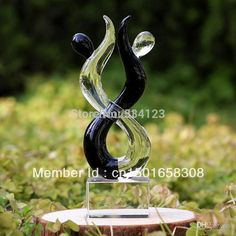 Wholesale-Love sculpture ! Crystal glass figurines as home decoration / mascot Valentine gift wedding party decor souvenior freeshipping