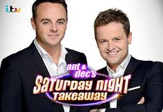Ant & Dec's Saturday Night Takeaway. How Saturday night telly used to be!