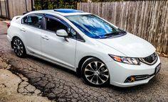 white honda civic si with black rims - Honda Civic 2013, Muscle Cars, Best Suv, Honda Cars, Mitsubishi Lancer Evolution, Car Mods, Nissan Silvia, Honda S2000, Cars