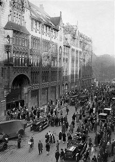 Berlin 1928 Kaufhaus Tietz am Doenhoffplatz