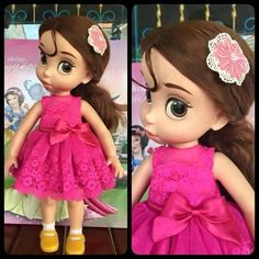 Disney Baby doll clothes dress clothing Animator's collection Princess010 #newbrand
