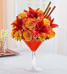 Martini Bouquet™ Pumpkin Spice EXCLUSIVE Raise a toast to the special people who…