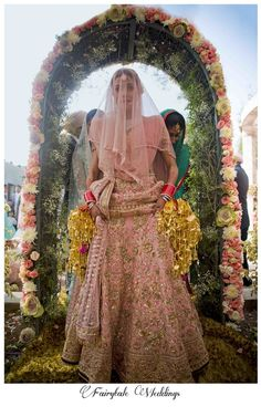 Bridal Lehnga by Tarun Tahiliani; Fairytale Weddings by Angad B Sodhi