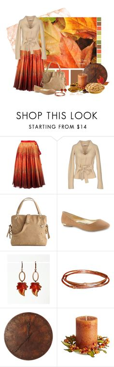 """""""{ Fallen Hues }"""" by anamaria-93 ❤ liked on Polyvore featuring Alexander McQueen, Big Buddha, Call it SPRING, WALL and Pier 1 Imports"""