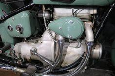 OldMotoDude: 190 Sunbeam S7 Deluxe on display at the Buddy Stubbs Museum -- Phoenix, Az.