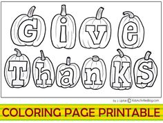 give thanks clipart black and white - Google Search