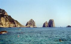 Capri, Italy, such a beautiful place, went on European cruise.