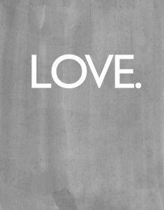LOVE Printable - Valentine's Day