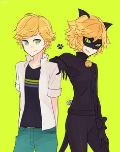 Adrien&Chat Noir