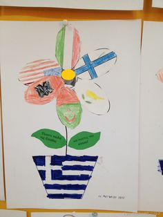 28th October, School, Kids, Crafts, Flags, Autumn, Young Children, Boys, Manualidades