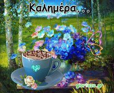 Καλημέρα! Εικόνες gif.....giortazo.gr - Giortazo.gr God Is Good Quotes, Best Quotes, Painting, Art, Art Background, Best Quotes Ever, Painting Art, Kunst, Paintings