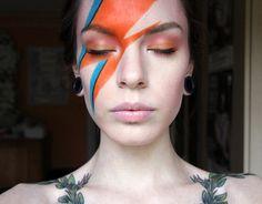 I like this look-- it still allows for eyebrows ;) Ziggy Stardust https://www.makeupbee.com/look_Ziggy-Stardust_42584