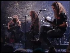 Pearl Jam-Unplugged.... Porch, at the very end, is ABSOLUTELY EPIC. They go insane! I love it!!!