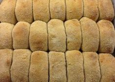 I grew up eating pan de sal for breakfast or merienda (snack). My favorite was Baliwag-style, enriched with milk, butter and egg. Knead dough in bread machine, then shape and bake in regular oven. Breadcrumbs provide that distinctive crunchy crust. Masarap (delicious)! **Dough ball should be as sticky as the back of a Post-it Note. Otherwise, add up to 2 TBL of flour or water, as needed.**