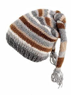 Free Alpaca Beanie Knitting Pattern.