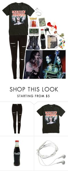 """Marilyn Manson appreciation...."" by comaxblack ❤ liked on Polyvore featuring CO, Samsung and Plane"
