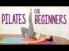 Total Body Pilates! 20 Minute Tone & Shape, Legs, Butt, Abs, Beginners Home Workout, Flexib - YouTube