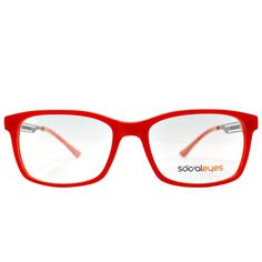 socialeyes se cole c02 mate red and black rectangle plastic eyeglasses 100 liked