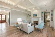 coastal living room | Mahshie Custom Homes