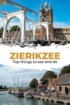 Zierikzee, The Netherlands. Explore a beautiful town that has over 500 historical monuments. What a stunner! Check out all that you can do and see in Zierikzee. Stuff To Do, Things To Do, Historical Monuments, Brooklyn Bridge, You Can Do, Netherlands, Amsterdam, Travel Inspiration, Dutch