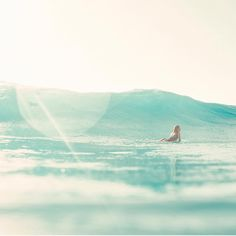 The salt water treatment #BombshellSeries | @nikkivandijk @trentmitchellphoto