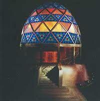This Glass Dome was deigned by the Deutscher Werkbund.