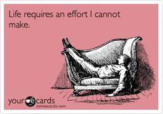Being lazy is so rewarding!