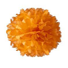 Tissue Paper Pom-Pom - Mango
