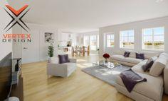 Large Livingroom/Kitchen Design