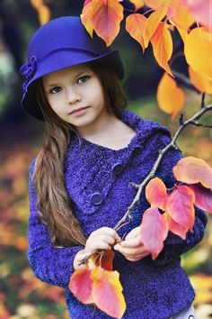 Would be beautiful wearing blue against the gold birch leaves in the fall!