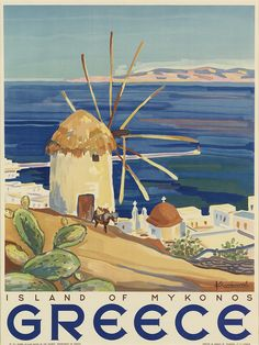 SIGNATURE ILLEGIBLE GREECE / ISLAND OF MYKONOS
