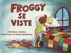 Would be awesome to use when teaching reflexive verbs AND preterit tense.  froggy-se-viste by kcolby via Slideshare