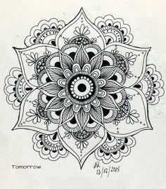 Drawing Of Love Doodles Zentangle Patterns 48 Super Ideas Mandala Design, Mandala Art, Mandalas Painting, Mandalas Drawing, Mandala Pattern, Zentangle Patterns, Zentangles, Henna Mandala, Mandala Doodle