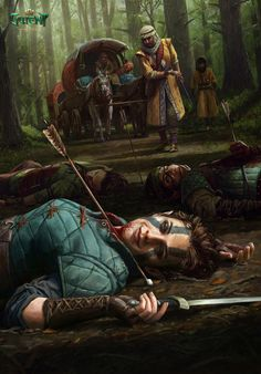 Artwork from the Witcher universe. Fantasy Inspiration, Story Inspiration, Character Inspiration, Character Art, Witcher Art, The Witcher, Fantasy Artwork, Medieval Fantasy, Dark Fantasy