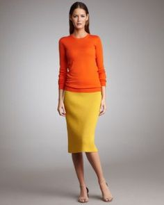 needs higher heels but great spring look Tea Length Skirt, Spring Looks, Couple Shoot, Neiman Marcus, Stella Mccartney, Sims, My Style, How To Wear, Shopping