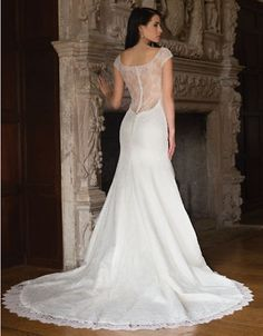 Brands   Wedding Gowns   Susie Fit and Flare Gown   Hudson's Bay