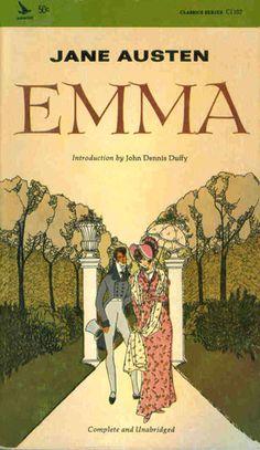 """Emma"" - Jane Austen (Airmont Publishing Company, Inc Emma Jane Austen, Jane Austen Books, Best Art Books, Emma Book, Emma Woodhouse, Book Cover Art, Book Covers, Film Base, Ordinary Lives"