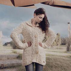 La idea de Terra es trasmitir lo natural. trabajamos con lana merino con fibras 100% naturales