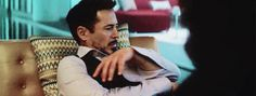 """Tony and his numb left arm and electromagnetic headache...(""""Civil War"""")."""