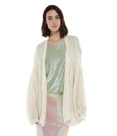 Oversized Open Knit Cardigan #2015 #cardigan #essentiel #fashion #knit #open #spring #summer #trends