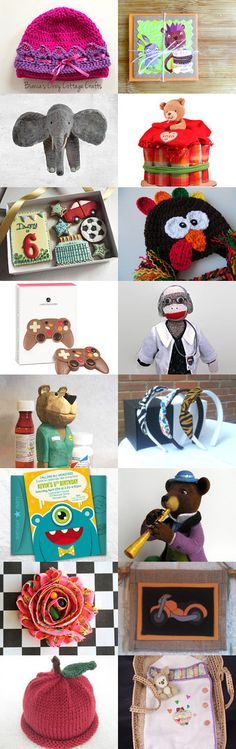 Gifts for kids by Evelina on Etsy--Pinned with TreasuryPin.com