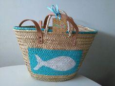 Cestos decorados de cestos de playa .com