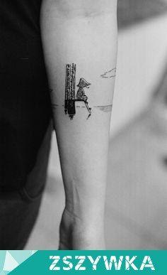 Zobacz zdjęcie Bo Włóczykij. ♥ :) Uroczy tatuaż :) w pełnej rozdzielczości