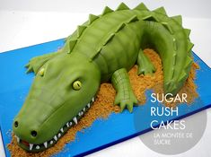 Alligator – Crocodile Cake