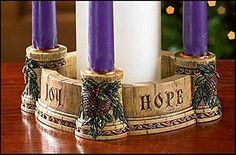 Look at the flickering Advent Candles on your Advent Wreath and focus on slowing down. Each of the four Sundays in Advent is symbolized by another light. Catholic Advent Wreath, Advent Wreath Candles, Christmas Advent Wreath, Christmas Crafts For Kids, Advent Wreaths, Christmas Time, Iron Candle Holder, Candle Holders Wedding, Pillar Candle Holders