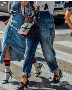 { on the street } Gucci-spotting...