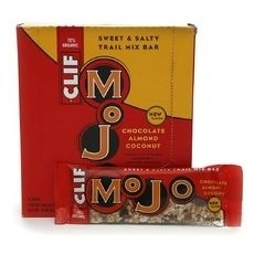 Healthy Snacks Trail Mix Bars Clif Bar Mojo Chocolate Almond Coconut 12 Bars  Enjoy Clif Mojo Bar Sweet & Salty Trail Mix Bars Chocolate Almond Coconut. So There's This Trail Mix Bar…We Call It Clif Mojo®. Folks Tell Us It's Pretty Darn Good. A Delicious Sweet And Salty Snack Dedicated To Getting Out There And Mixing Things Up. Clif Mojo Combines Simple And Delicious, 100% All-Natural And Organic Ingredients That Are Good For Our Bodies And The Planet Too. A Wholesome Helping Of Trail Mix…
