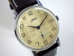 Vintage ZIM Mens mechanical watch from the USSR