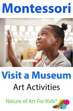 Getting out of the classroom and visiting museums is essential for students to develop their art literacy. It also helps them grow in their understanding and appreciation of art. A Montessori art field trip can. Montessori Art, Montessori Classroom, Classroom Activities, Kids Painting Projects, Painting For Kids, Art For Kids, Private Teacher, Toddler Art, Art Activities