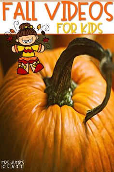 Fall videos for kids! Use these fall videos to teach about leaves, pumpkins, bats, owls, and spiders during your fall-themed lessons.